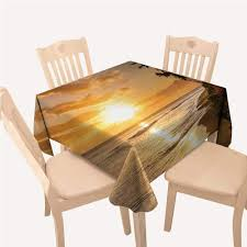 Amazon.com: Hawaiian Table Cloth Cover Warm Tropical Sunset ... Langston Ding Chair Amazoncom Ding Table Runner Or Dresser Scarf Hawaiian New Kauai Fniture Condo Packages From Island Collections Queen Kaahumanu Suite Luxury Hotel Royal Tropical Decorating Ideas Trend Garden 31 Best Restaurants In San Francisco Cond Nast Traveler Mikihome Chair Pad Cushion Wooden Skyline Slipcover Cari Garden Rose Casa Padrino Miami Flowers Leaves Black White Multicolor 45 X Cm Finest Velvet Living Room Decorative Pillow Flying Pig Hawaii Koa Extension Room Tables Can Be Purchased