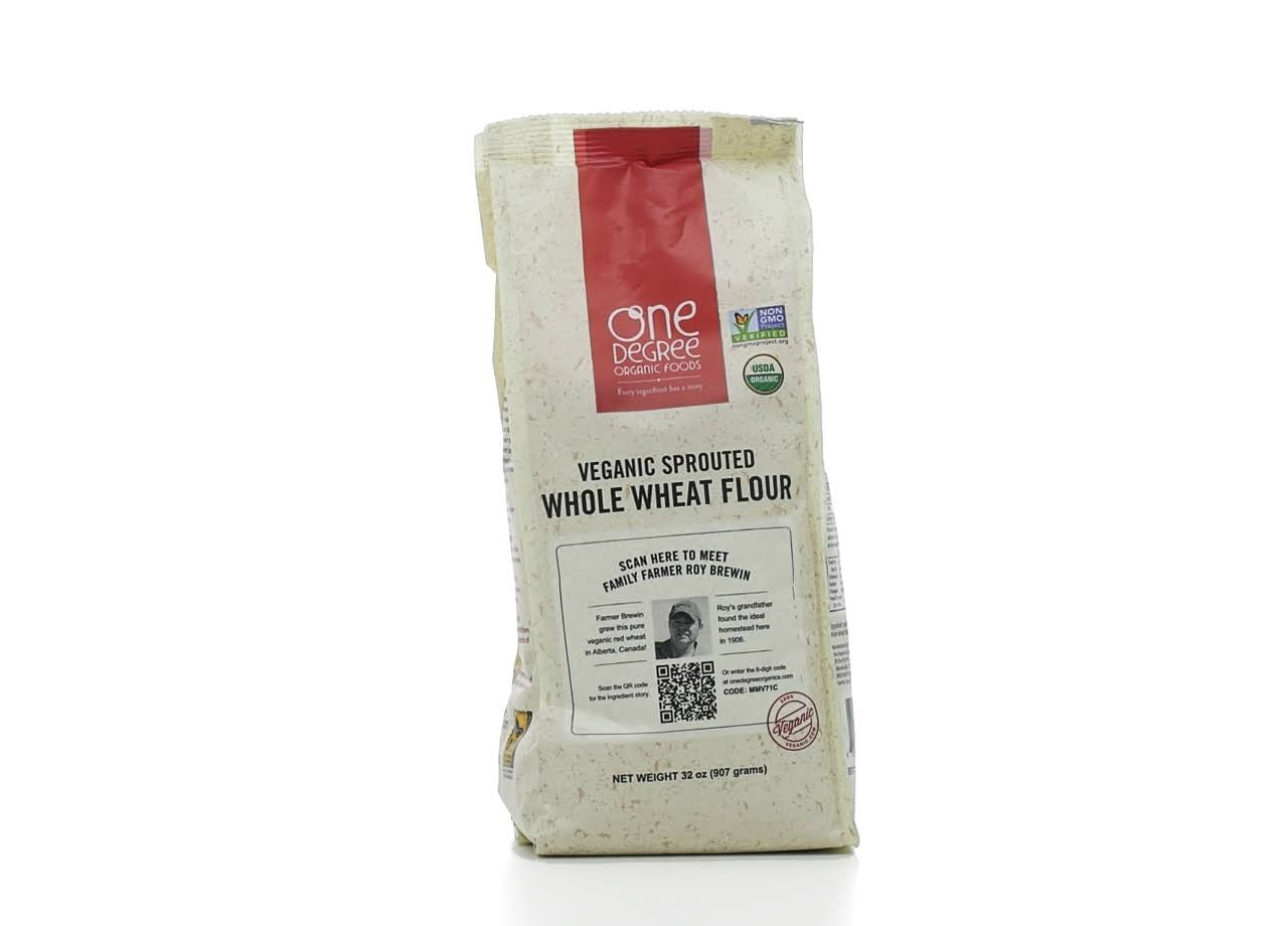 One Degree Organic Foods Sprouted Whole Wheat Flour - 32oz