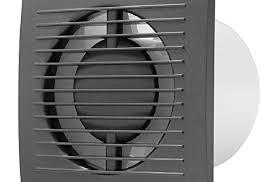 ø 100mm ventilator mit timer anthrazit badlüfter lüfter