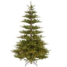 Pre Lit Artificial Fraser Fir Christmas Tree by National Tree Company 7 5 Ft Powerconnect Glenwood Fir Artificial