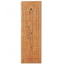 Cribbage Completed Track Style Board Made Using JIG ITR Game Drilling System For