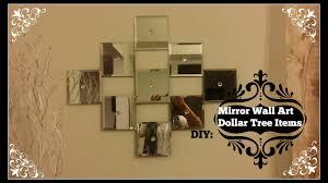 diy mirror wall dollar tree mirrors
