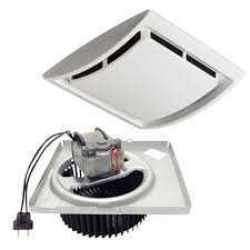 Bathroom Exhaust Fan Light Replacement by Nutone Quickit 60 Cfm 2 5 Sones Bath Fan Upgrade Kit Qkn60s The