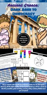 Ancient Greece Dark Ages To Democracy Digital Simulation And Board Game