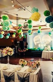 Paper Pom Poms Wedding Decorations Image collections Wedding