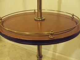 Stiffel Floor Lamp Vintage by Vintage Stiffel Brass U0026 Wood Floor Table Lamp 54