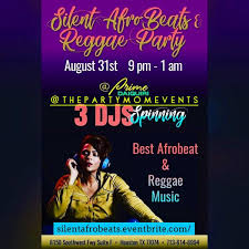Silent AfroBeats And Reggae Party At Prime Daiquiri Houston