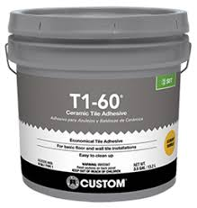 Polyblend Sanded Ceramic Tile Caulk Dry Time by T1 60 Economical Tile Adhesive Custom Building Products