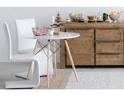 EIFFEL Round dining table 35 5 White