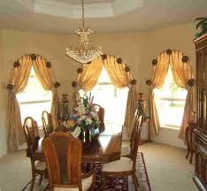 Kitchen Drapery Ideas Medium Size Of Valances Window Treatments For Bay Dining Room Curtain