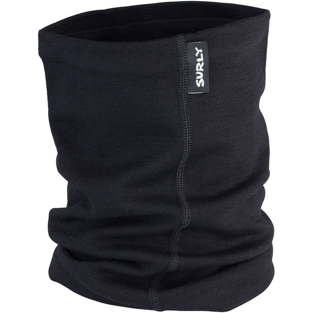Surly Merino Neck Gaiter Black One Size