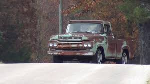 1959 Ford Truck F100 BARN FIND Video 1 - YouTube 1959 Ford F100 Greenwhite Youtube All Natural Ford Awesome Amazing 2018 Pick Em Ups 4clt01o1959fordf100pjectherobox Hot Rod Network Stress Buster 59 Styleside Pickup Vintage Ad Cars Pinterest Vintage Ads File1959 Truck 4835511497jpg Wikimedia Commons Minor Sensation Fordtruck 12 59ft4750d Desert Valley Auto Parts 247 Autoholic Truck Tuesday