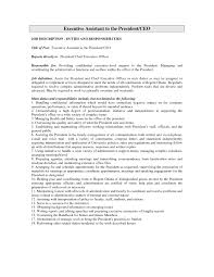 Executive Administrative Assistant Resume Sample Monster Ceo Template