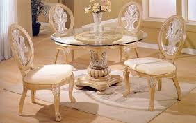 table awesome round glass dining intended for house overstock with