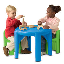 100 Playskool Plastic Table And Chairs Kids S Toddler S Little Tikes