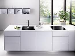 Ferguson Moen Kitchen Faucets by Decorating Double Bowl Blanco Sinks Plus Matching Kitchen Faucet