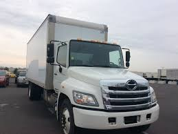 USED 2013 HINO 268A BOX VAN TRUCK FOR SALE #10401