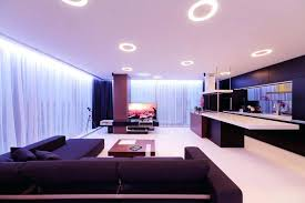 recessed lighting in living room home design