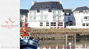 hotel du port lesconil hotels de charme et de caractere hôtel du port plobannalec