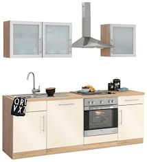 wiho küchen küchenzeile aachen ohne e geräte breite 220 cm kaufen otto