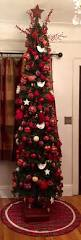 9 Ft Pre Lit Pencil Christmas Tree by Best 25 Skinny Christmas Tree Ideas On Pinterest White