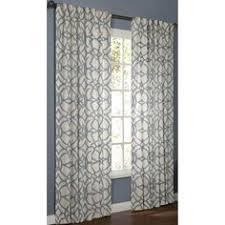 Allen Roth Curtains Alison Stripe by Allen Roth Everly 63 In L Geometric Chocolate Rod Pocket Curtain