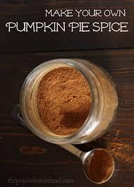 Ingredients For Pumpkin Pie Mix by Pumpkin Pie Spice Recipe The Prairie Homestead