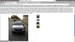 Craigslist Houston Tx Cars And Trucks For Sale By Owner. Affordable ...