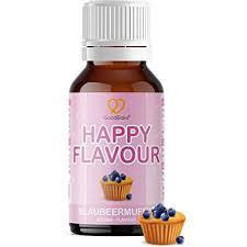 goodbake happy flavour blaubeermuffin 30ml aroma flavour drops für getränke quark joghurt desserts kuchen backaroma