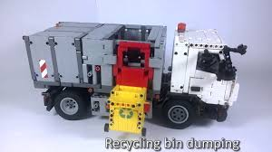 100 Lego Recycling Truck Repeat LEGO Technic Pneumatic By Tomas