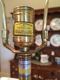 Marbro Lamp Company Los Angeles by Marbro Lamp Co Original Lamp Artifact Collectors