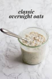 Pumpkin Pie Protein Overnight Oats by 8 Classic Overnight Oats Recipes You Should Try Wholefully