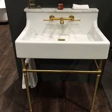 Sherle Wagner Italy Sink by Say Yes To Brass The Dxv By Amstandard Oak Hill Console Sink Is