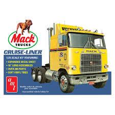 AMT 1062 1/25 Mack Trucks Cruise-Liner Plastic Model Kit At Hobby ...