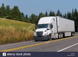 100 Is Truck Driving Hard Big Rig Classic White Semi Truck With Dry Van Full Size Hard Semi