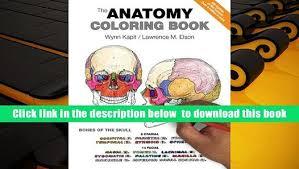Anatomy Coloring Book Third Edition Pdf The Wynn Kapit Pre Order