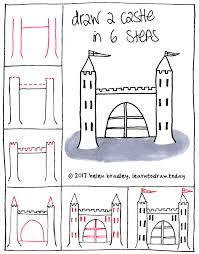 Draw A Castle In Few Steps