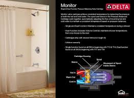 Delta Windemere Roman Tub Faucet by Delta 144910 Chrome Classic Tub And Shower Trim Package With