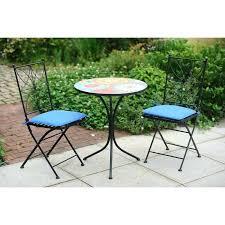 Ebay Patio Furniture Uk by Cream Metal Garden Bistro Sets Outdoor Bistro Table Sets Uk Metal