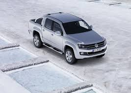 New Volkswagen Amarok Pickup Truck: First Official Photos Of ...