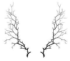 Twig border clipart silhouette An interesting Silhouette Black Fall Outline Leaf White