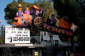 Scariest Halloween Attractions In Southern California by La Ghost Train 2017 Review