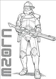 Lego Star Wars Clone Trooper Coloring Pages Free Printable Kids Troopers Arc Full Size