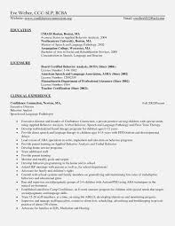 Sample Speech Pathology Resume Fresh Sample Pediatric Therapist ... 25 Examples Slp Cover Letter 7k Free Example Rumes Formats Speech Language Pathology Resume Luxury Pathologist 11 Template Fair Slpa Pinterest School Best Of Beautiful Therapist Atclgrain Therapist Nutritionist Of A And Sample Speech Pathology Resume Kinalico Therapy Assistant Lovely Ellie Russell Aba 97