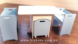 Amazing Childrens Table And Chairs Wooden Plans Play With Storage ...