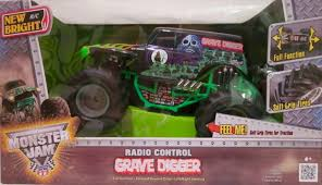 New Bright Monster Jam Grave Digger RC Car 1:15 Scale Truck 49MHZ ... New Bright Monster Jam Radio Control And Ndash Grave Digger Remote Truck G V Rc Car Jams Amazoncom 124 Colors May Vary Gizmo Toy 18 Rc Ff Pro Scorpion 128v Battery Rb Grave Digger 115 Scalefreaky Review All Chrome Scale Mega Blast Trucks Triangle By Youtube 1530 Pops Toys New Bright Big For Monster Extreme Industrial Co