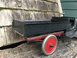 Sold - Late 20's Early 30's Buddy L Dump Truck 24