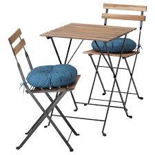 Runnen Floor Decking Outdoor Brown Stained by Tärnö Table 2 Chairs Outdoor Tärnö Black Brown Stained Stegön