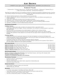 Private School Teacher Sample Resume