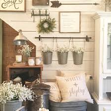 Primitive Living Rooms Decor by Decorating Rustic Farmhouse Decor Shabby Chic Wall Decor